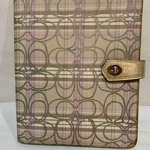 Coach original apple iPad case
